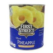 First Street Sliced Pineapple