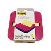 3M Post-It Pop-up Note Dispenser Pk Aqua&Yellow