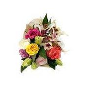 Debi Lilly Fragrant Rainbow Rose Bouquet