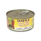 Hafez Chunk Light Tuna in Oil Lemon & Pepper