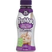 TruMoo Milk, Lowfat, Cookies n' Cream, 1% Milkfat