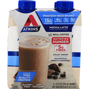 Atkins Protein-Rich Shake, Mocha Latte