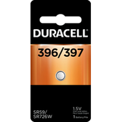 Duracell Battery, Silver Oxide, 396/397