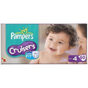 Pampers Cruisers Big Pack Size 4 Diapers