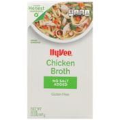 Hy-Vee Chicken No Salt Added Broth
