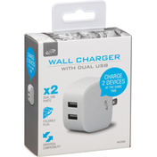 iLive Wall Charger with Dual USB