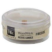 Wood Wick Candle, Petite, Fireside