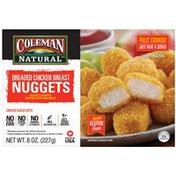 Coleman Gluten Free Breaded Chicken Breast Nuggets