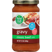 Food Club Classic Beef Flavored Gravy