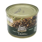 First Street Chopped Ripe Olives