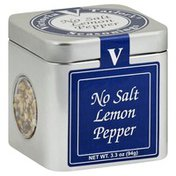 Victoria Taylors Seasonings, No Salt Lemon Pepper