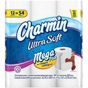 Charmin Ultra Soft Mega Plus Rolls  Toilet Paper