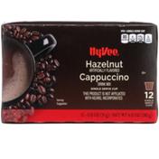 Hy-Vee Hazelnut Cappuccino Drink Mix Single Serve Cups