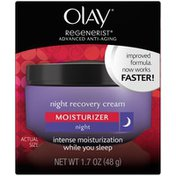 Olay Regenerist Night Recovery Night Cream Face Moisturizer, Female Skin Care