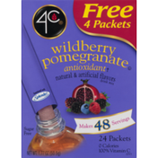 4C Foods Wildberry Pomegranate Antioxidant Drink Mix Packets
