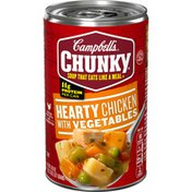 Campbell's® Chunky® Hearty Chicken with Vegetables Soup