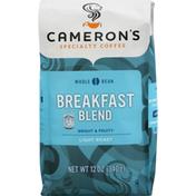 Camerons Coffee, Whole Bean, Light Roast, Breakfast Blend
