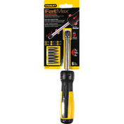 Stanley Ratcheting Screwdriver, 3 Position