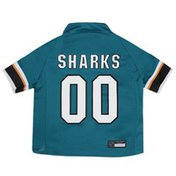 Pets First Extra Small NHL San Jose Sharks Jersey for Dogs & Cats