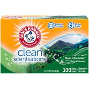 Arm & Hammer Clean Scentsations Clean Mountain Fabric Softener Sheets