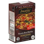 Imagine Soup, Hearty Beef Barley, with Mixed Vegetables