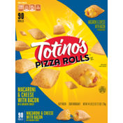 Totino's Totino's Pizzs Macaroni and Cheese With Bacon In A Golden Crust