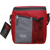 Polar Pack Flip Top Cooler, Insulated, 18 Can
