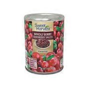 Sweet Harvest Wholeberry Cranberry Sauce