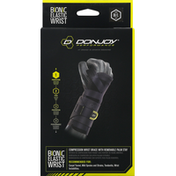 Donjoy Elastic Wrist Brace, Left, Size M/L