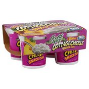 Health Wise Cottage Cheese, Lowfat, 2% milkfat Min, Snack Cups
