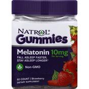 Natrol Melatonin, 10 mg, Strawberry, Gummies