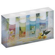 Forever Florals Cologne Sampler, Hawaiian, with Rollerball Applicator, 4 Pack