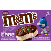M&M's Cookie Sandwiches, Classic, 4 Pack
