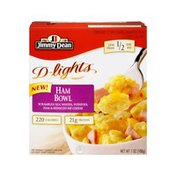 Jimmy Dean D-Lights Ham Bowl Scrambled Egg Whites, Potatoes, Ham & Reduced Fat Cheese