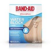 Band-Aid Brand Large Water Block Plus Adhesive Bandages