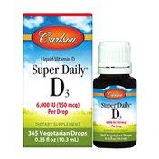 Carlson Labs Super Daily D3 6,000 IU
