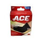 Ace Bakery Large to Extra Large Black Elasto-Preene Elbow Support