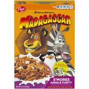 Post DreamWorks Madagascar S'Mores Jungle Party Cereal