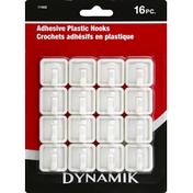 Dynamik Hooks, Plastic, Adhesive