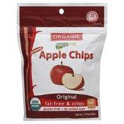 Yogavive Apple Chips, Organic, Popped, Original