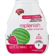 Hannaford Strawberry Watermelon Replenish Water Enhancer