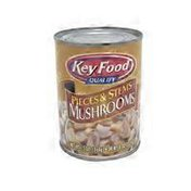 Key Food Quality Pieces and Stems Mushrooms