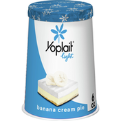 Yoplait Light Yogurt, Fat Free Yogurt, Banana Cream Pie