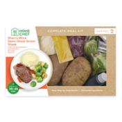 Home Chef Sherry Wine Demi-Glace Sirloin Steak Meal Kit