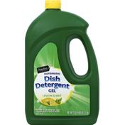 Signature Home Dish Detergent, Automatic, Lemon Scent, Gel
