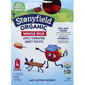 Stonyfield Organic Apple Cinnamon Sweet Potato Whole Milk Yogurt