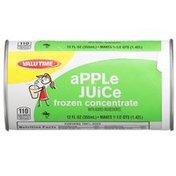 Valu Time Apple Juice Frozen Concentrate