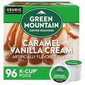 Green Mountain Coffee Roasters Caramel Vanilla Cream K-Cup Pods