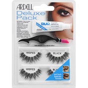 Ardell Deluxe Pack, Wispies, Black
