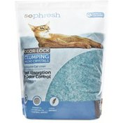 So Phresh Turquoise Scoopable Odor-Lock Clumping Micro Crystal Cat Litter
